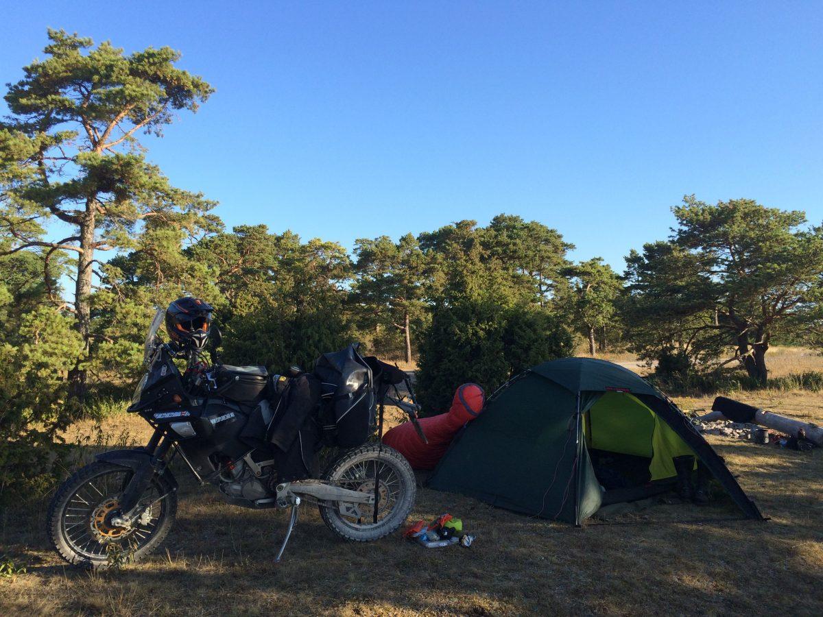 Basecamp auf Gotland